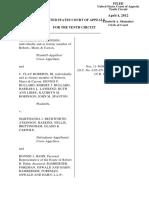 Hutchinson v. Beckworth, 10th Cir. (2012)