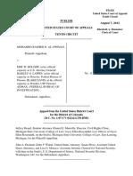 Al-Owhali v. Holder, Jr., 10th Cir. (2012)