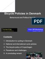 Bicycle Policy in Denmark