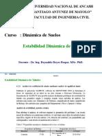 Estabilidad Dinámica de Taludes