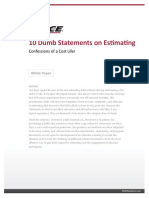 PRICE - White Paper - 10 Dumb Statements on Estimating