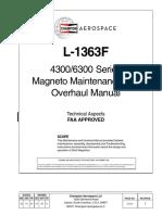 SlickMag 4300 and 6300 Series Overhaul Manual