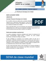 143676437 Actividad de Aprendizaje Unidad 2 Planificacion Estrategica de La Calidad