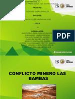 Conflicto Minero Las Bambas