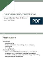 Curso-Taller de Competencias