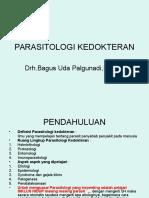 Pengantar Parasitologi Kedokteran Dan Soil Transmitted Helminth