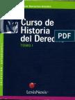 Curso de Historia Del Derecho Barrientos