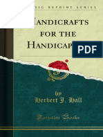 Handicrafts for the Handicapped 1000012420