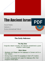 Step 5 - The Ancient Israelites