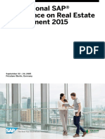 SAP Real Estate 2015