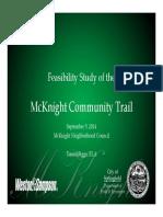 Springfield McKnight Trail Presentation