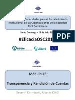 Presentación Transparencia y Rendición de Cuentas 2016