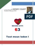 Le Portfolio - Elections 2010 de Jean-Henry Céant