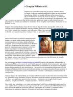 Clínica Canaria De Cirugía Plástica S.L.