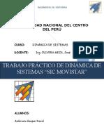 Modelo Dinamico de SIC MOVISTAR.