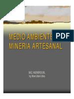 Analisis Medio Ambiente Mineria Artesanal