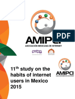 Study of Internet Users Mexico