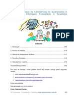 Princípios Da Administração De Medicamentos E Cuidados De Enfermagem Relacionados À Terapêutica Medicamentosa