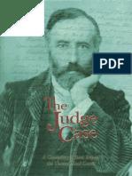 The Judge Case Volume i