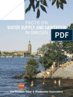 Facts on Water Supply and Sanitation in Sweden (English)