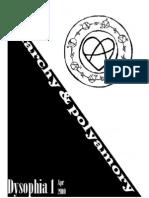 Anarchism & Polyamory (Dysophia 1)