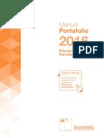 Manual Portafolio Educ Parvularia 2016