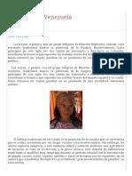 Indígenas de Venezuela_ Los Wayúu