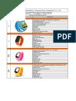 products list Kid Smart watch .pdf