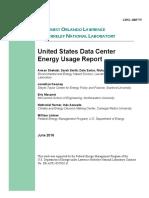 United States Data Center Energy Usage Report