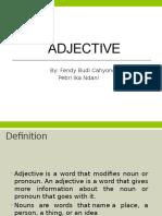Presentasi Adjective Pebri-fendy