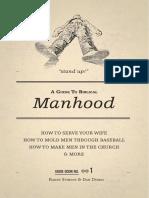 Guide to Biblical Manhood