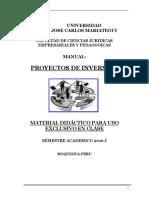 Manual de Formulacion de Proyectos - Bid (1)