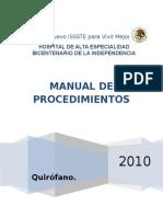 Manual Procedimientos