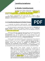 Aula 1 - Constitucionalismo