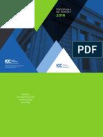 2016 ICC Programa de Accion