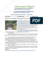 Pa Environment Digest July 18, 2016