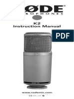 k2 Product Manual