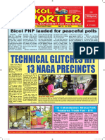 Bikol Reporter May 8 - 14, 2016 Issue