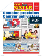 Bikol Reporter May 15 - 21, 2016 Issue