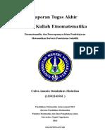 Penerapan Etnomatematika Dalam Mempelajari Materi Luas Daerah