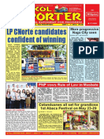 Bikol Reporter May 1 - 7, 2016 Issue