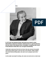 Golda Meir-A Lesson From History-Must Read