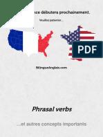 Phrasal Verbs. English - Française