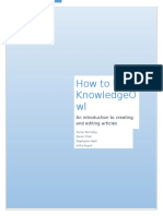 how to use knowlegeowl