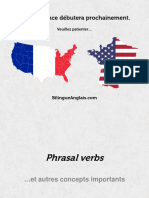 400 Phrasal Verbs. English - Française