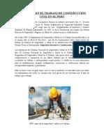SEGURIDAD EN EL TRABAJO DE CONSTRUCCIÓN CIVIL EN EL PERÚ.docx