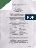 Examen 1 de Calderas - Tecnologia Setiembre 2013