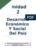 Desarrollo Social y Economico