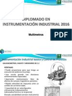 Diplom en Instrum Industrial multimetros(Multimetros)