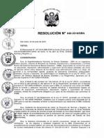 Directiva Nº 001-2016/SBN